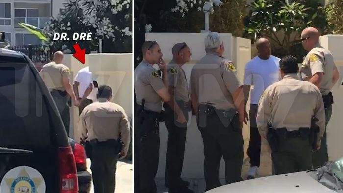 Dr. Dre Detained After A Confrontation Outside His Malibu Home (2 pics)
