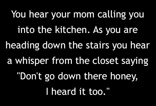 Two Sentence Horror Stories That Will Haunt You For Days (10 pics)