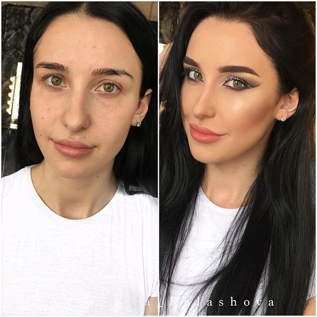 Before And After Photos That Prove There's Nothing Makeup Can't Do (19 pics)