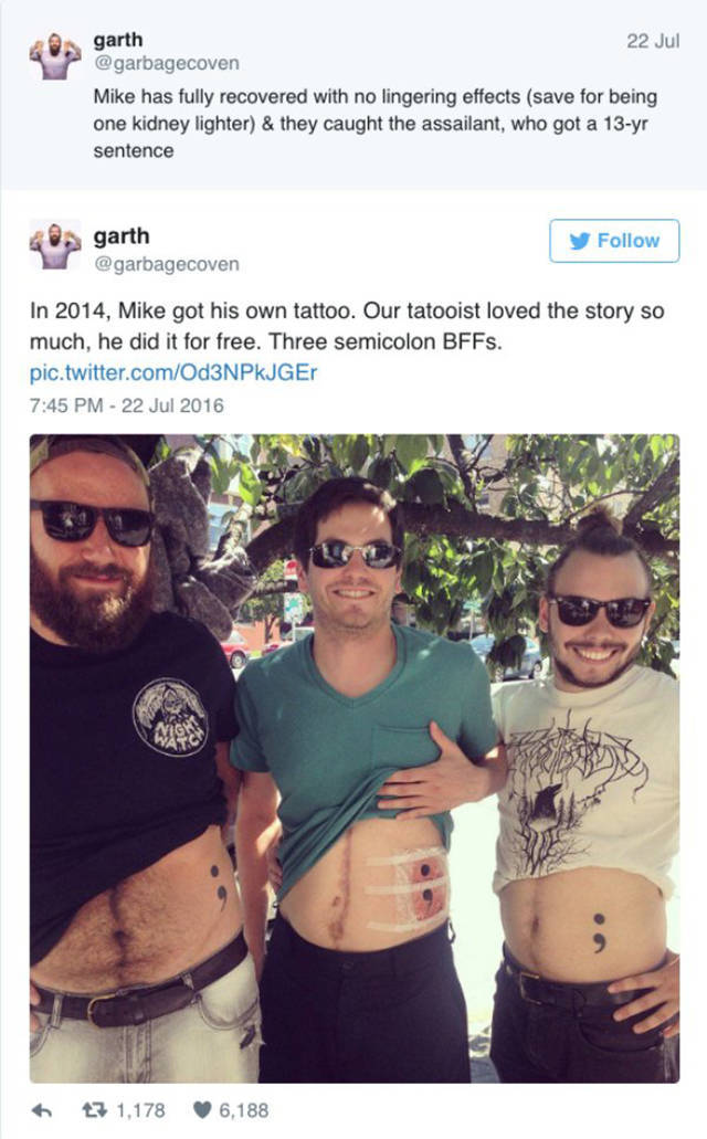Best Friends Get Matching Tattoos For A Very Good Reason (10 pics)
