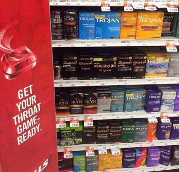 A Compilation Of Lowbrow Humor For All The People With Dirty Minds (40 pics)