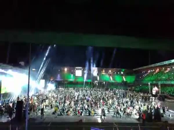 1,200 Musicians Play Smells Like Teen Spirit By Nirvana Live In Cesena