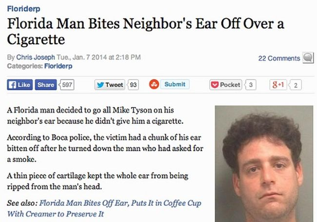Outrageous Crimes That Couldn't Have Happened Anywhere Else But Florida (18 pics)