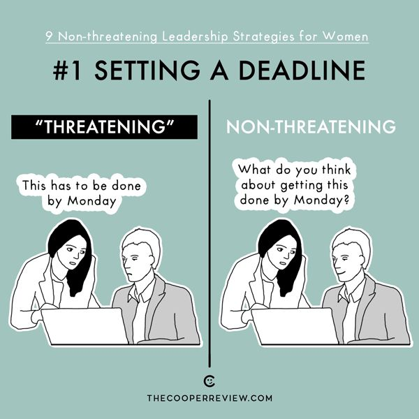 Leadership Strategies For Women That Are Non-Threatening (9 pics)