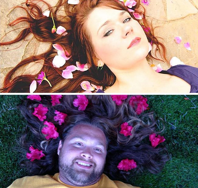 It's Hilarious When Guys Try To Parody Photos Of Women And They Nail It (34 pics)
