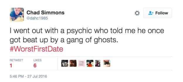 Twitter Users Hold Nothing Back When Describing Their Worst First Dates (18 pics)