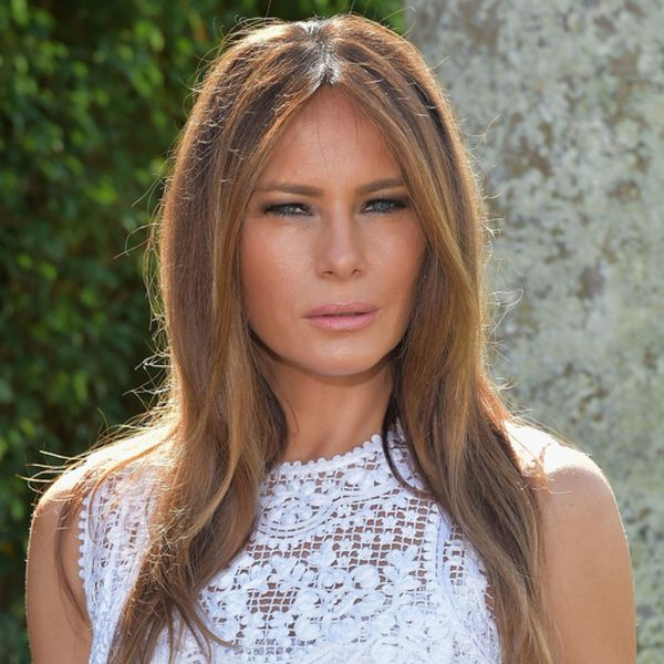 You've Probably Never Seen Melania Trump Like This Before (3 pics)