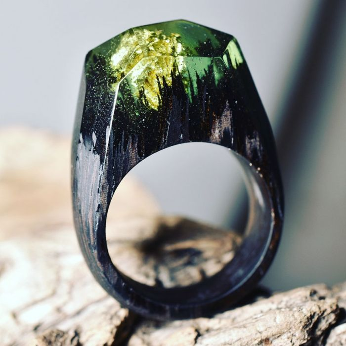 The Different Seasons Are Captured Inside These Impressive Wooden Rings (14 pics)