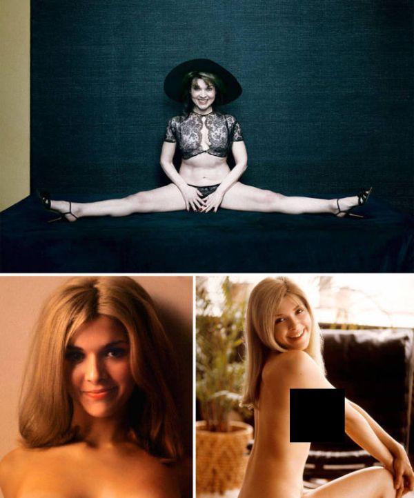 What Playboy Playmates Looked Like 60 Years Ago Compared To Today (6 pics)