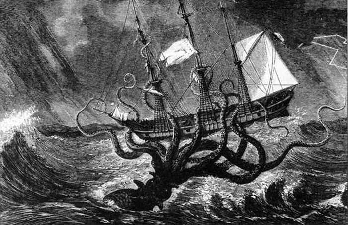 Fake Sea Monsters That Have Become Legendary Creatures (7 pics)