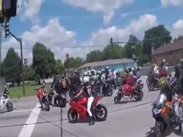 Chicago Bikers Ran Down By Pickup Truck