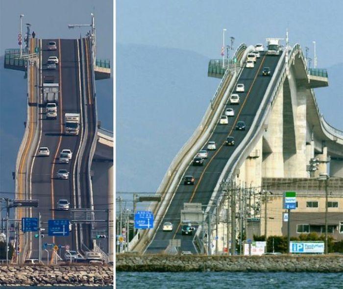 This Japanese Bridge Is A Little Terrifying (4 pics)