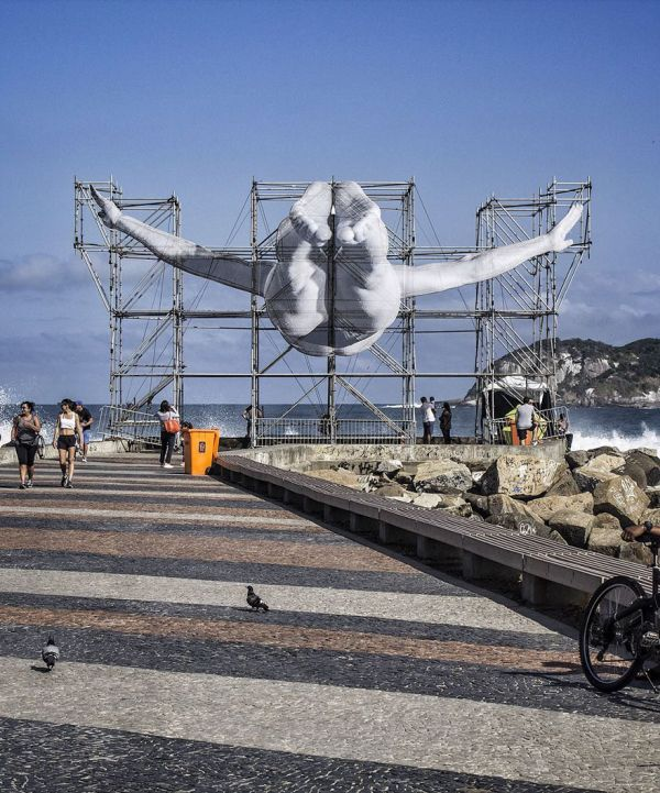 French Artist Creates Something Special For The Rio Olympic Games (7 pics)