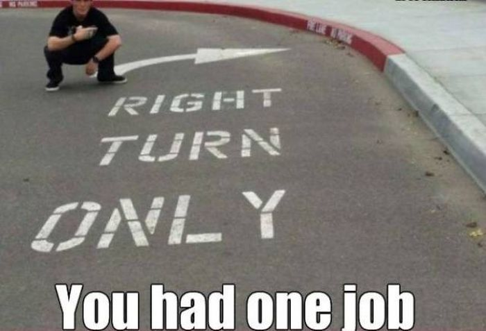 If You Only Have One Job to Do, Do It Right Or Prepare To Be Shamed (72 pics)