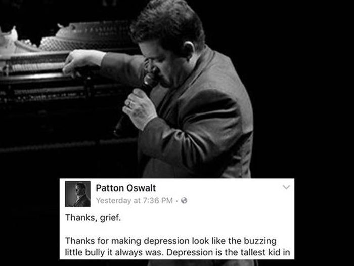 Patton Oswalt Writes Touching Post About Grief After Losing His Wife (10 pics)