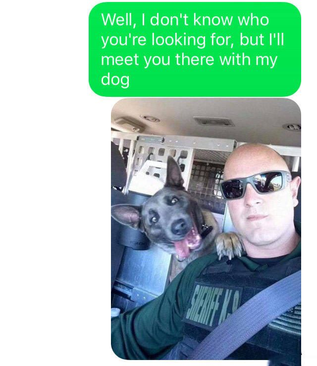 Guy Searching For Weed Sends Text To The Wrong Person (3 pics)