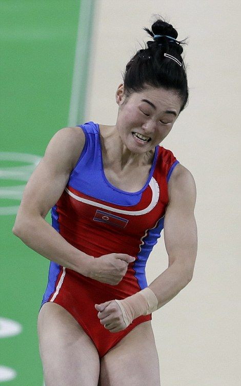 Olympic Gymnasts Have Been Making Hilarious Faces In Rio (16 pics)