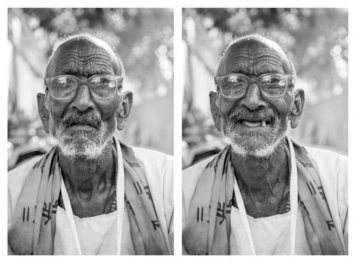 How A Smile Can Completely Change Your Perception Of A Stranger (25 pics)