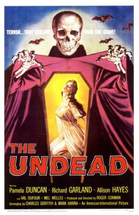 Awesome Posters That Were Created For Vintage Horror Movies (28 pics)