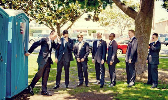 Awesome Groomsmen Who Took Their Wedding Photos To The Next Level (19 pics)