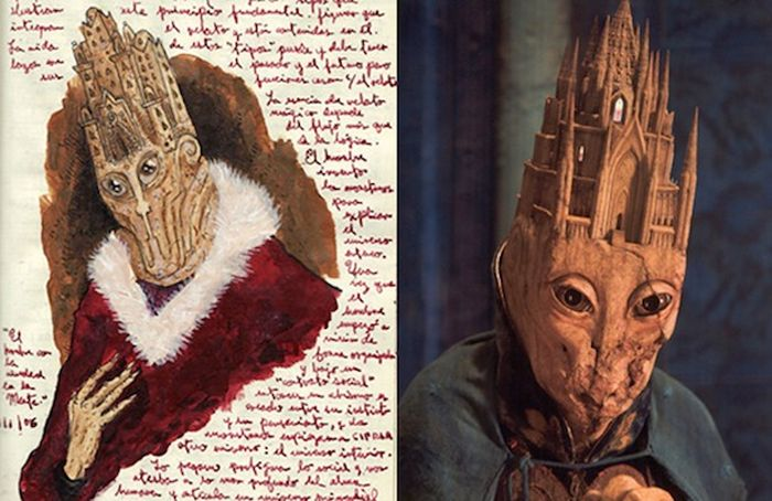 A Look Inside Guillermo Del Toro's Sketchbook (9 pics)