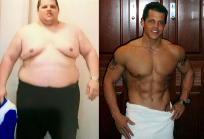 Man Makes Complete Body Transformation In Just 10 Months (5 pics)