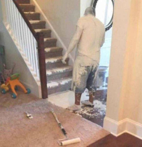 When Everything Falls Apart And You Know There's No Escape (42 pics)
