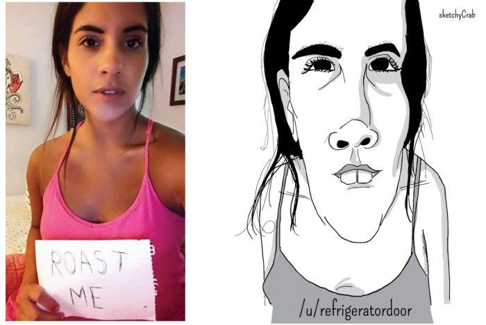 Artist Uses Unflattering Illustrations To Roast People (10 pics)