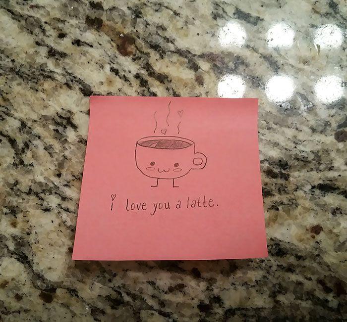 Girlfriend's Cute Love Notes To Her Boyfriend Go Viral (7 ...