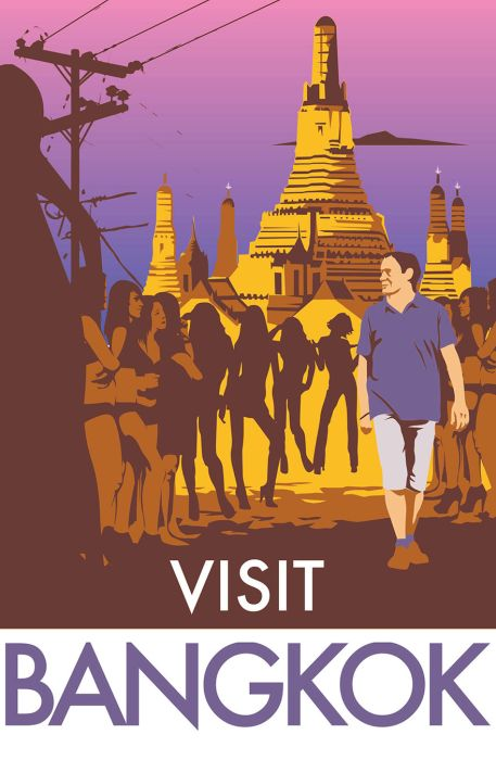 Artist Creates Brutally Honest Travel Posters (10 pics)