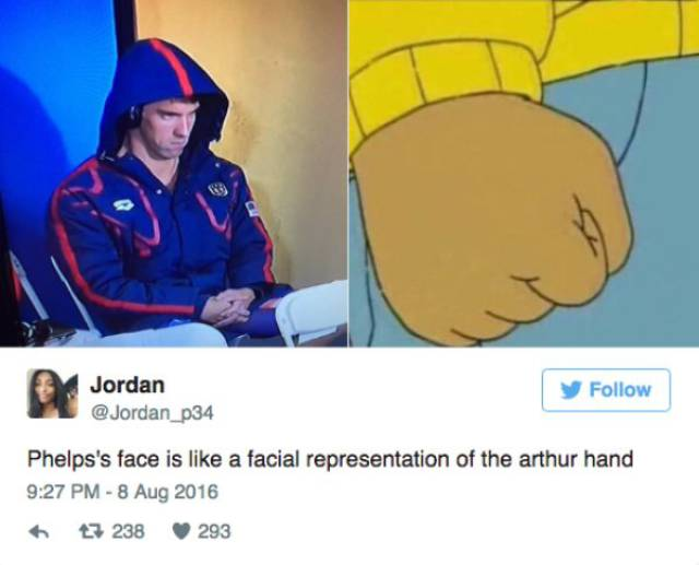 Michael Phelps' Game Face Is The Newest Internet Sensation (23 pics)