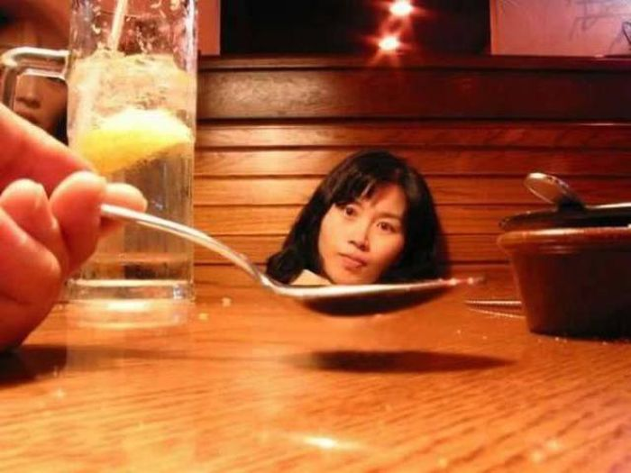 Photos That Were Taken At Exactly The Right Angle At Exactly The Right Time (46 pics)