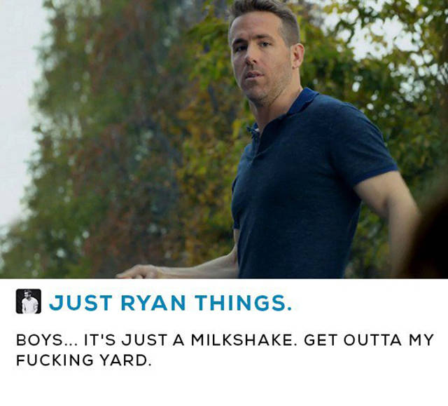 Why Ryan Reynolds Is One Of The Funniest Movie Stars Ever (14 pics)