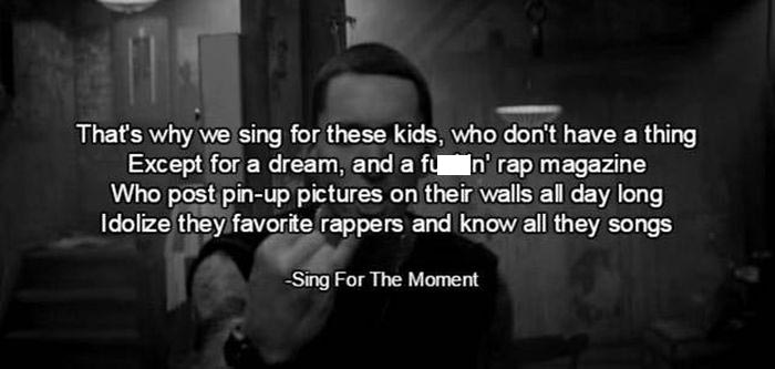 Memorable Lines From Eminem Songs That Prove He's One Of The Greatest (15 pics)