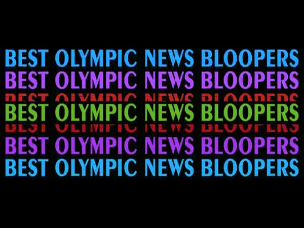 Best Olympic News Bloopers