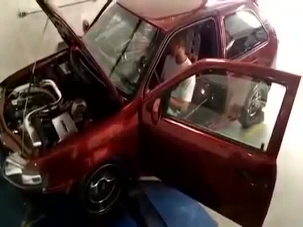 It Was Too Much For This Car