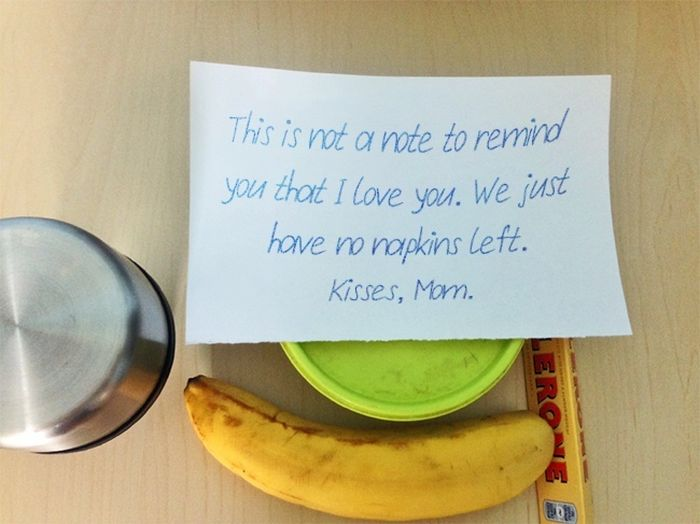 The 28 Funniest Notes Parents Have Ever Left For Their Kids (28 pics)