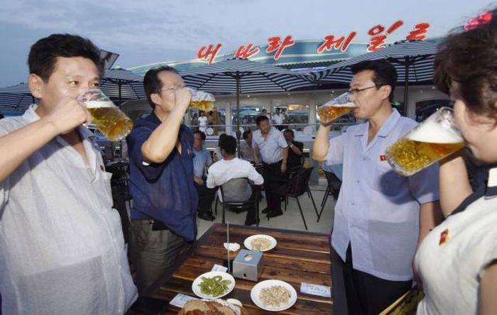 An Inside Look At North Korea's First Beer Festival (10 pics