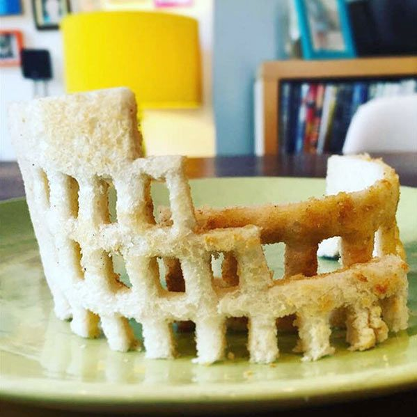 For This British Dad Breakfast Isn't A Meal, It's Art (10 pics)