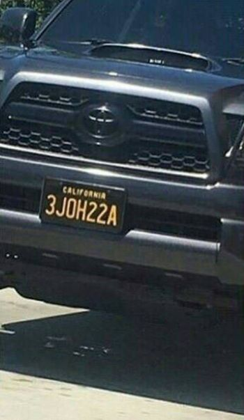 This License Plate Number Is Very Clever (2 pics)