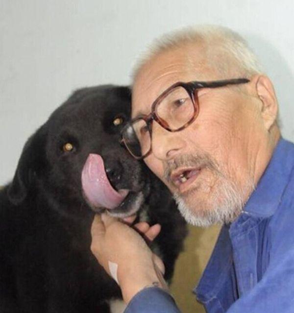 Old Man Leaves Life Savings To His Dog (3 pics)