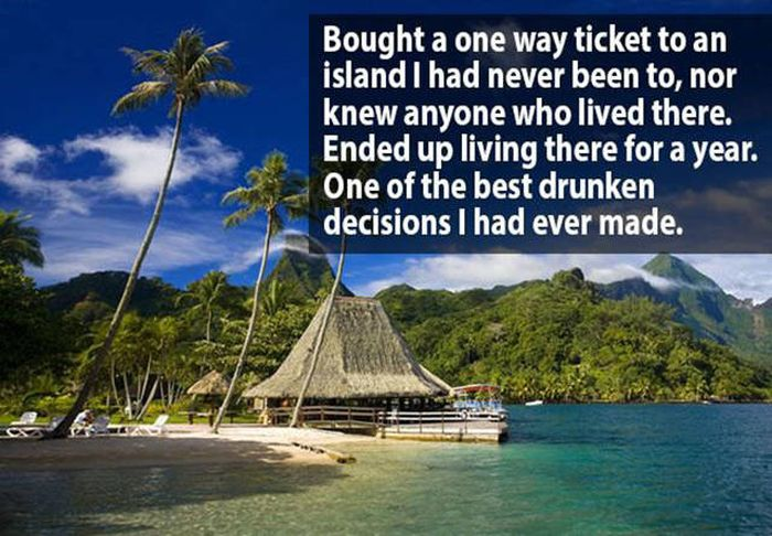 People Reveal The Most Ridiculous Things They've Purchased While Drunk (19 pics)