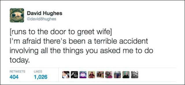 Married Men Use Hilarious Tweets To Describe Their Marriage (29 pics)