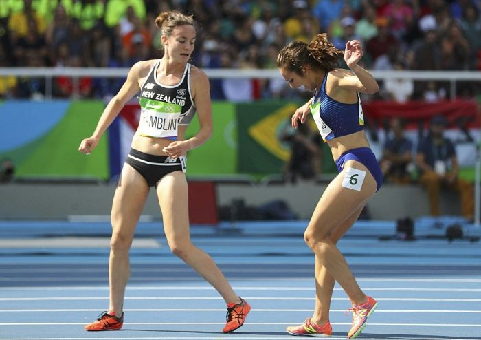 One Of The Most Inspirational Moments From The 2016 Olympic Games (8 pics)