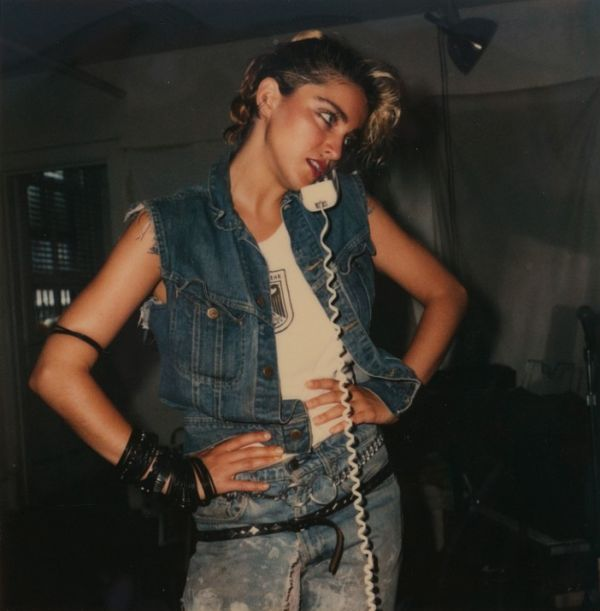 Long Lost Polaroids Of Madonna Show The Singer Before She Was A Star (9 pics)