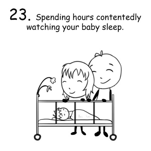 Funny Drawings All New Parents Will Be Able To Laugh At (29 pics)