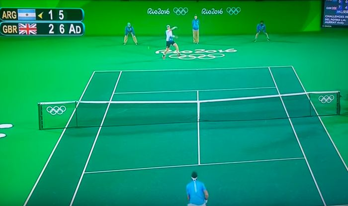 The Internet Turned The Olympic Tennis Final Into Something Magical (5 pics)