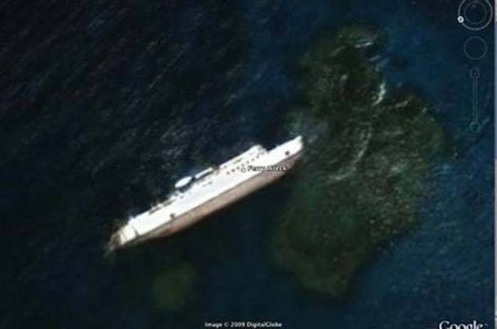 Unbelievable Discoveries That Were Made While Using Google Earth (11 pics)