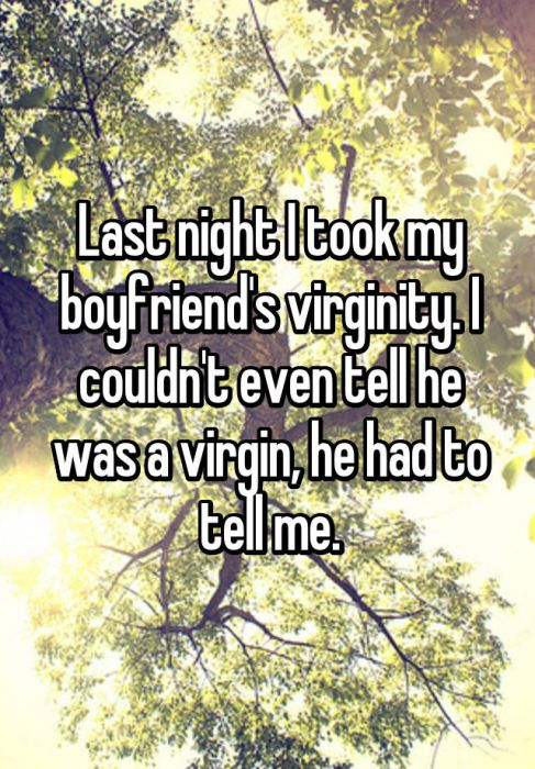 People Reveal What It's Like To Take Someone's Virginity (19 pics)
