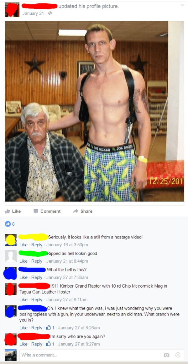 There's Something About Facebook That Trashy People Just Seem To Love (31 pics)